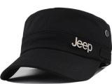 帽子批发 字母Jeep时尚平顶军帽男女夏天韩版潮流遮阳棒球帽薄款