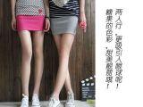 韩版糖果色修身半身裙 打底裙 包裙 A/a字短裙 裙装批发  厂