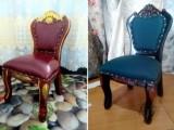 天津家庭椅子换面 皮革椅子换面 布艺椅子换面
