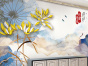 中式风格背景墙,安徽电视背景墙招商