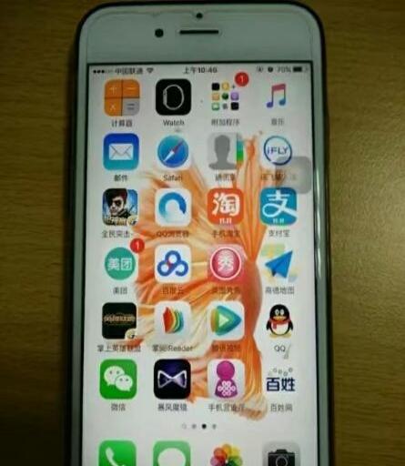 基本全新苹果6s低价卖了