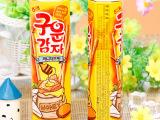 韩国进口食品海太碳烤蜂蜜薯条24克零食小薯棒(6903)