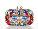 新款钻饰包镶钻 个性钻包 七彩大钻 手拿包 时尚晚宴包 夜店包