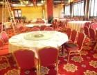 大连地区收购饭店桌椅,圆桌,玻璃转盘等库存积压物资