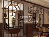 钛金玫瑰金黑钛不锈钢花格屏风隔断不锈钢酒店装饰玄关镂空屏风