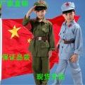 儿童小红军演出服装女红军红卫兵小八路军服装成人红军舞蹈表演服