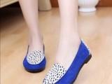 爆款2013新款老北京布鞋 豹纹聚氢酯软底平底女单鞋 布鞋批发