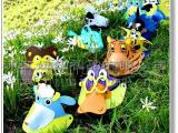 【儿童节必备】厂家直销环保 EVA卡通动物头饰 空顶帽 支持小批