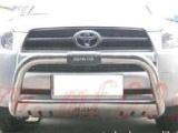 丰田RAV4汽车带挡沙板不锈钢前保险杠