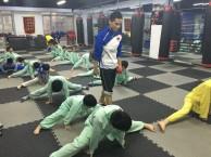 天津寒假少儿散打武术培训