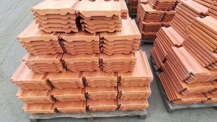郸城脊瓦陶瓷瓦烧结砖广场砖厂家直销