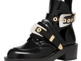 厂家直销 2014欧美新款真皮女靴子圆头粗跟马丁靴平底牛皮短靴