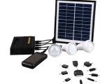 太阳能灯太阳能LED手提灯超亮户外太阳能家用充电小系统