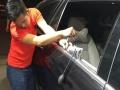 车身凹陷了,免喷漆快速修复。