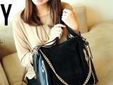 韩版女式时尚休闲包真皮 磨砂真皮包包 单肩手提女包时尚包袋S47