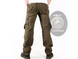 军绿迷彩休闲裤,广州批发迷彩工装多袋裤