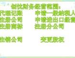 七宝镇办理公司执照注册 代理记账办理税务变更
