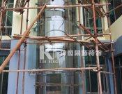 玻璃观光梯的价格范围如何广西观光电梯造价