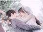 婚礼上选择什么发型较显脸小丨温州巴黎春天婚纱摄影