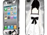 牛魔王 苹果4/4S手机彩膜卡通贴膜 浮雕荧光全身贴 手机保护膜
