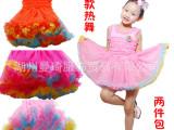 儿童六一礼服表演服女童婚纱礼服裙花边蓬蓬公主裙花童礼服表演服