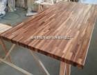 黑胡桃指接实木台面板 酒吧台面 橱柜台面 工作台 实木餐桌面