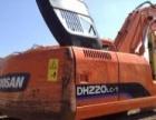 斗山 DH220LC-7 挖掘机          (纯土方极品