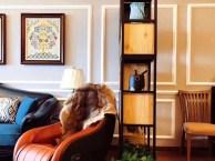 山水装饰设计师软装设计改造万科城之光精装房装修案例实景图