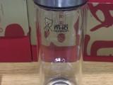 西安希诺单层玻璃杯 男女式商务款希诺水晶杯大红色礼盒批发