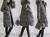 库存服装便宜秋冬中长款短款时尚潮流棉服适合开店服装批发