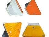 梯形金属轮廓标隧道诱导标附着式反光标高亮晶片反光标
