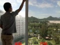 东坝办公室玻璃隔断贴膜磨砂膜窗户隔热膜