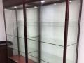 合金框架,玻璃货架处理