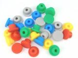 彩色橡胶堵头 橡胶塞子 防水软皮塞盖 下水道遮蔽堵孔塞