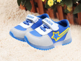 秋款热销男童女童运动鞋韩版魔术贴童鞋儿童鞋批发宝宝鞋厂家直销