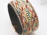 2014欧美手链 多元素手工编织手链多款可选 义乌外贸出口首饰