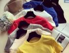 最便宜韩版女士T恤批发夏季时尚新款女士短袖地摊货批发市场