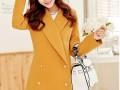 价格低质量好秋冬时尚女装毛呢外套批发厂家直销时尚靓丽女装批发
