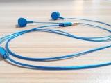 高档滴胶logo金属低音入耳式耳机 锡箔线 金属套筒 oem耳机