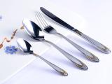 生产批发 西餐刀叉 外贸四件套原单 西餐餐具套装 牛排刀