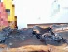 纯实木茶台,四个实木木凳,雕刻精美