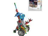 LOZ俐智 A0013小眼机器人益智拼装积木玩具 diy玩具 益