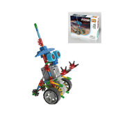 LOZ俐智 A0013小眼机器人益智拼装积木玩具 diy玩具 益智玩具