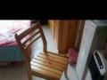 实木椅子原木清漆家用椅子