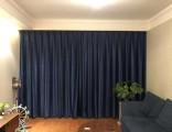 东四十条窗帘定做 家庭窗帘定做 公司窗帘订做