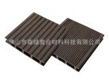 批发供应木塑材料  户外地板 塑木150-25mm  空心双面