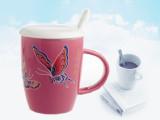 德化陶瓷广告杯礼品杯定制水杯子简约时尚办公杯厂家直销批发