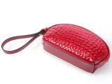 牛皮女士包包 零钱包 红色化妆包手机包 多功能手抓包 手拿包