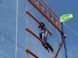 拓展项目不倒森林巨人梯一柱擎天生死电网撕名牌一天活动