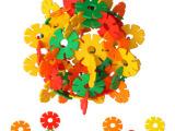 330片中号雪花片 乐高式塑料拼插积木 儿童益智拼装玩具批发